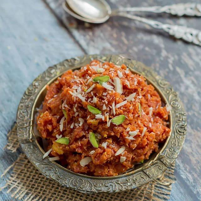 Лучшие индийские сладости десерты - Гажар Ка Халва (Gajar Ka Halwa)