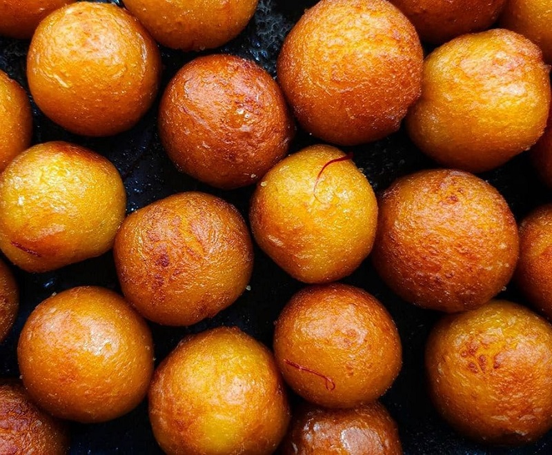 Лучшие индийские сладости десерты - Гулаб джамун (Gulab Jamun)