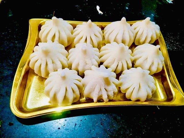 Лучшие индийские сладости десерты - Модак (Modak)
