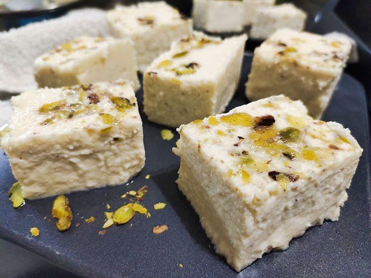 Лучшие индийские сладости десерты - Сандеш (Sandesh)