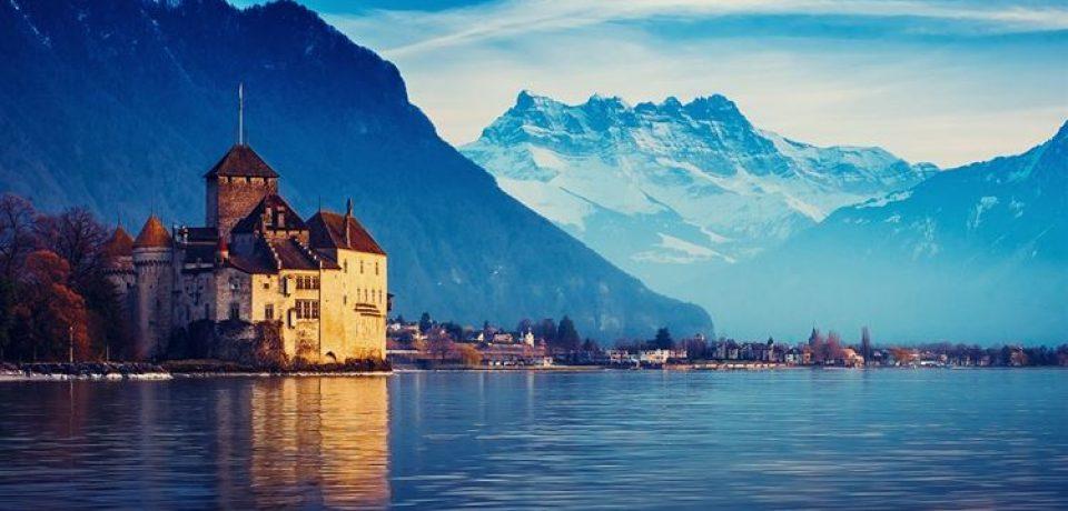 Крупные и красивые озёра Франции