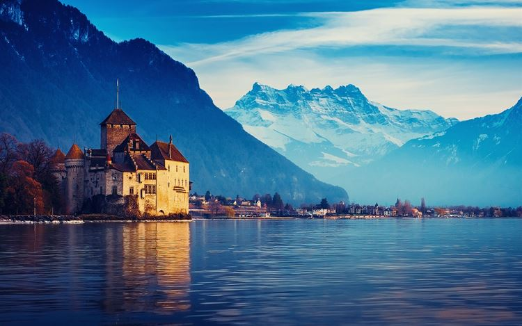 10 самых красивых озёр Франции - Женевское озеро