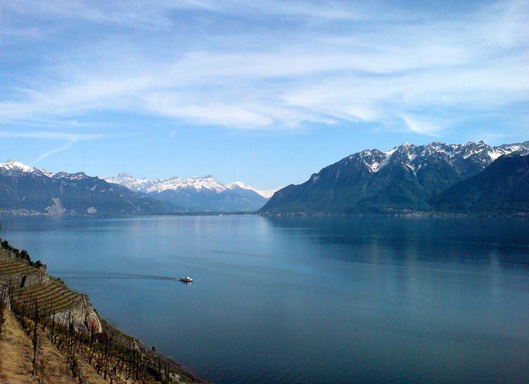 Красивые озера Франции: Женевское