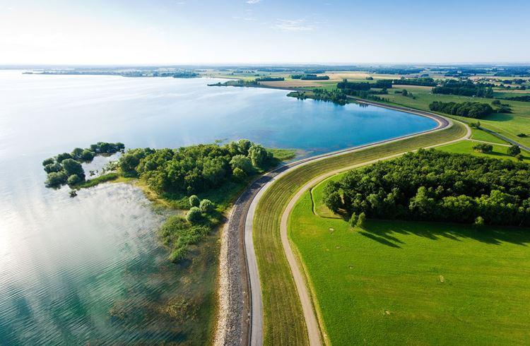 Красивые озера Франции: Дер