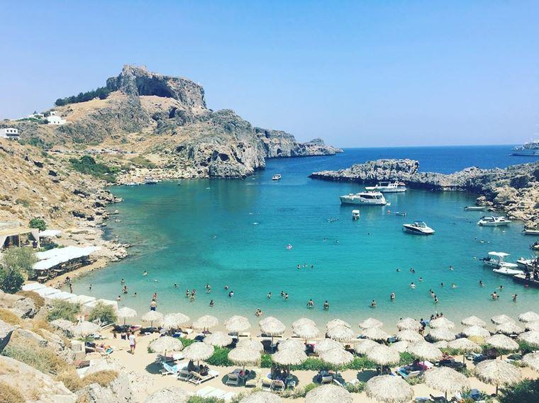 Лучшие пляжи Греции: Бухта Святого Павла
