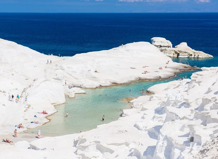 Лучшие пляжи Греции: Саракинико