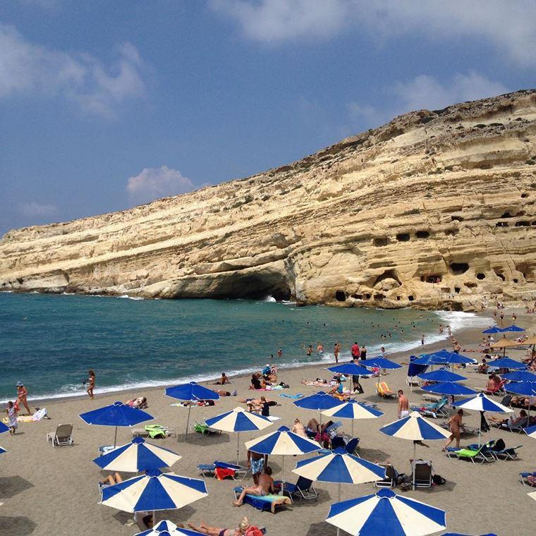 Лучшие пляжи Греции: Матала