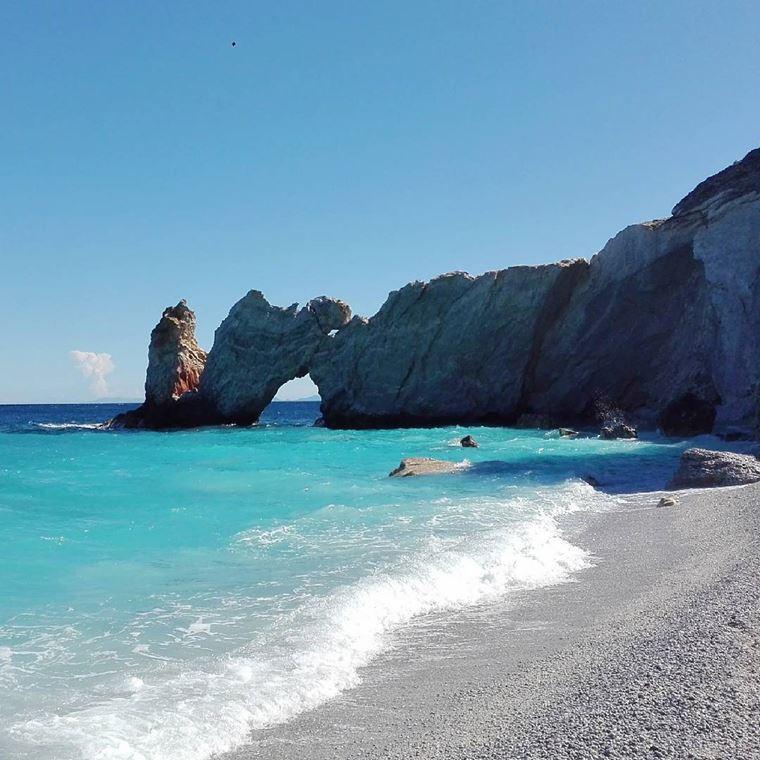 Лучшие пляжи Греции: Лалария
