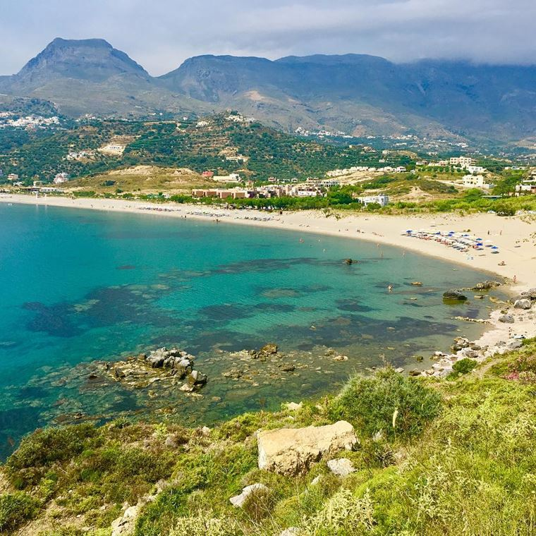 Лучшие пляжи Греции: Плака