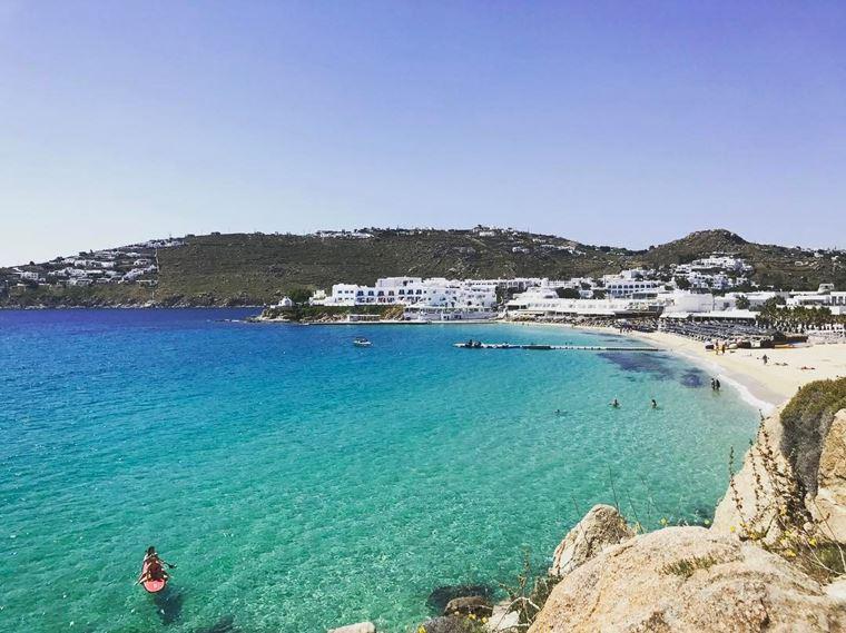 Лучшие пляжи Греции: Платис Гиалос