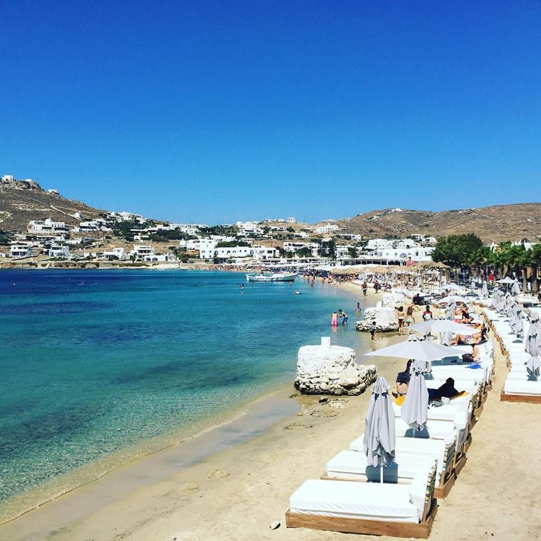 Лучшие пляжи Греции: Орнос