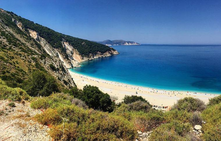 Лучшие пляжи Греции: Миртос