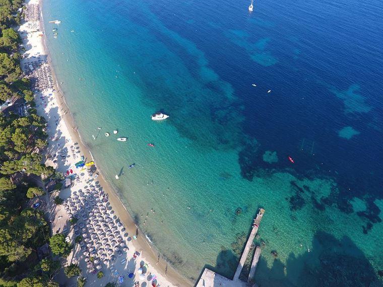 Лучшие пляжи Греции: Кукунариес