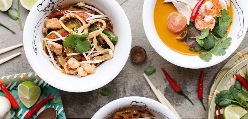 «Точка Дзы» и «Жень и Шень» — новые рестораны азиатской кухни в Москве
