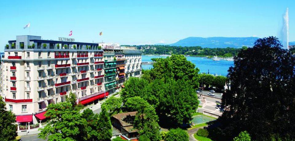 Отель Le Richemond в Женеве открывает выставку Аластера Гибсона