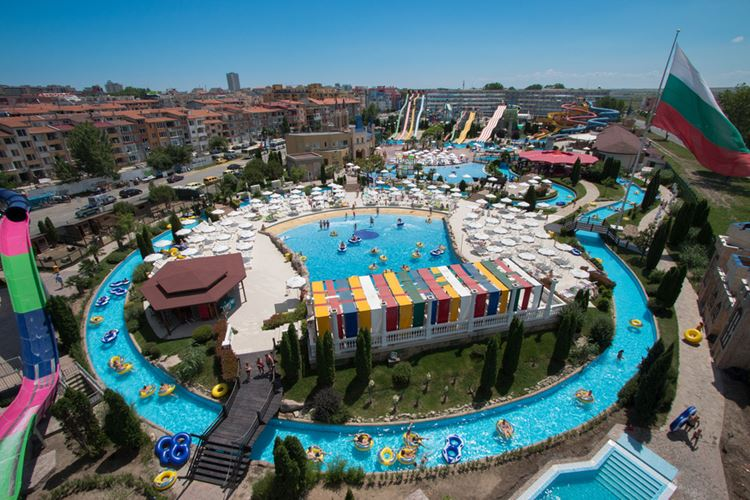 Action Aquapark (Екшън Аквапарк), Солнечный берег