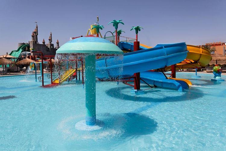 Аквапарки Египта:  Aqua Blue Water Park, Шарм-эль-Шейх - детский бассейн с аттракционами
