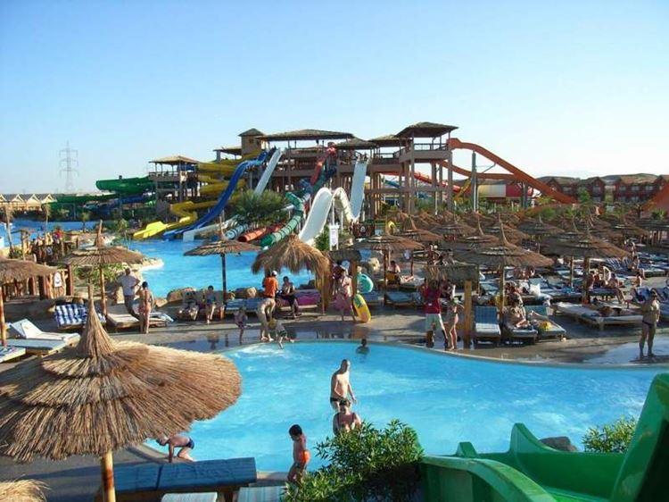 Аквапарки Египта: Cleo Park, Шарм-эль-Шейх - бассейны и водные горки
