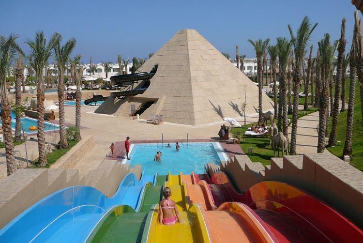 Аквапарки Египта: Cleo Park, Шарм-эль-Шейх - детский бассейн с водными горками