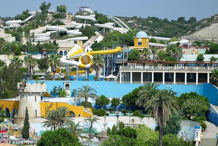 Аквапарки Греции WaterPark (Фалираки, о. Родос)