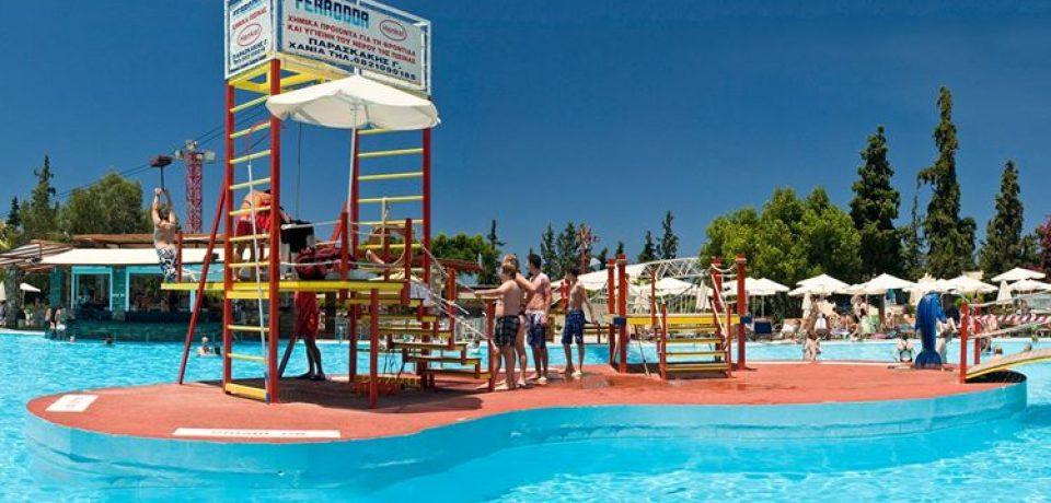 12 аквапарков Греции: водные развлечения островов-курортов