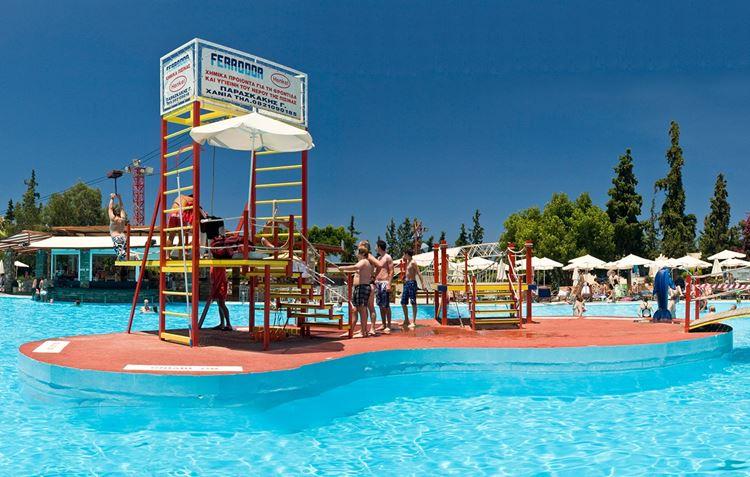 Аквапарки Греции Limnoupolis Water Park (Варипетро, о. Ханья)