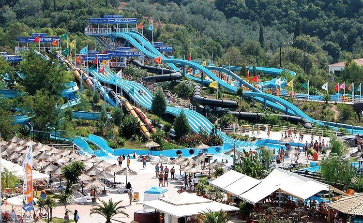Аквапарки Греции Bravo Water Park (Амудара, о. Крит)