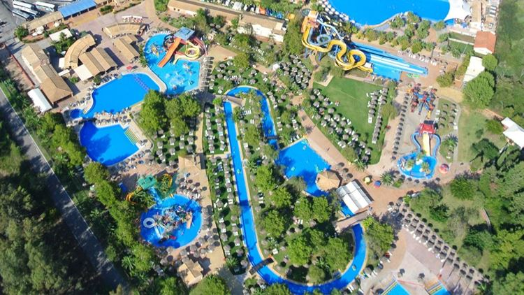 Аквапарки Греции Aqualand Park Corfu (о. Корфу)