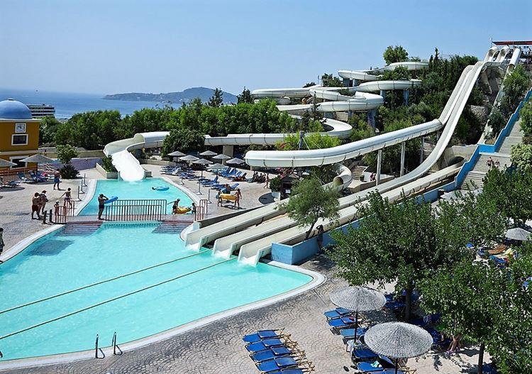 Аквапарки Греции Родос