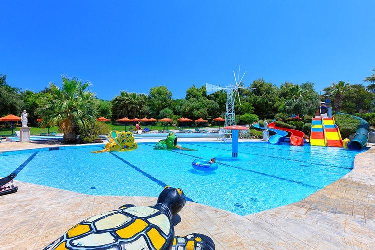 Аквапарки Греции Крит