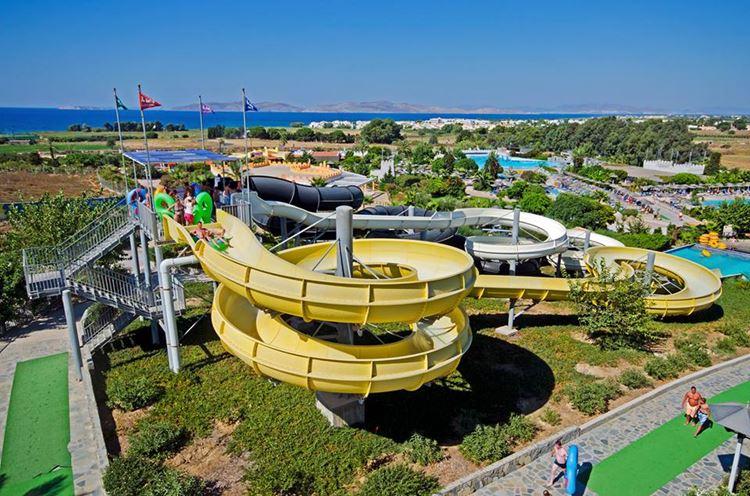 Аквапарки Греции Lido Waterpark (Ираклидес, о. Кос)