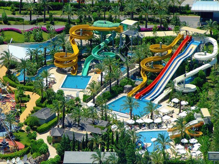 Аквапарки Турции - Antalya Aqualand Dolphinland (Анталья)