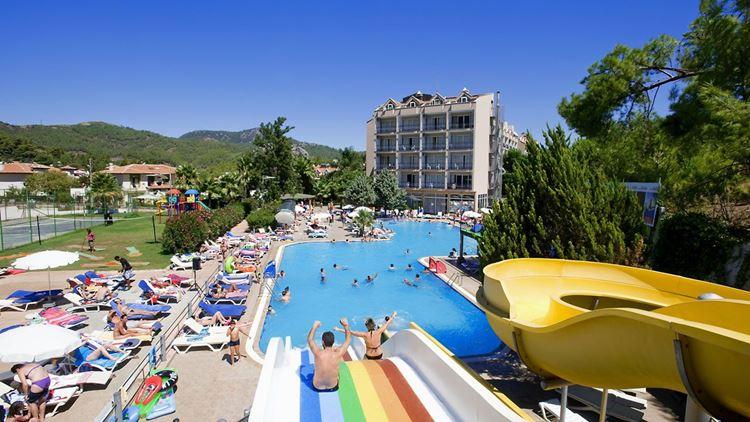 Аквапарки Турции - Mezitli Su Parkı Yüzme Havuzu (Мерсин)