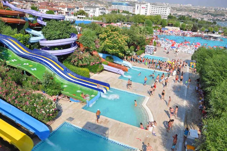 Аквапарки Турции - Aqua Marine Su Oyunları ve Eğlence Merkezi (Стамбул)