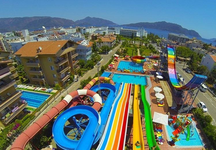 Аквапарки Турции - Atlantis Water Park (Мармарис)