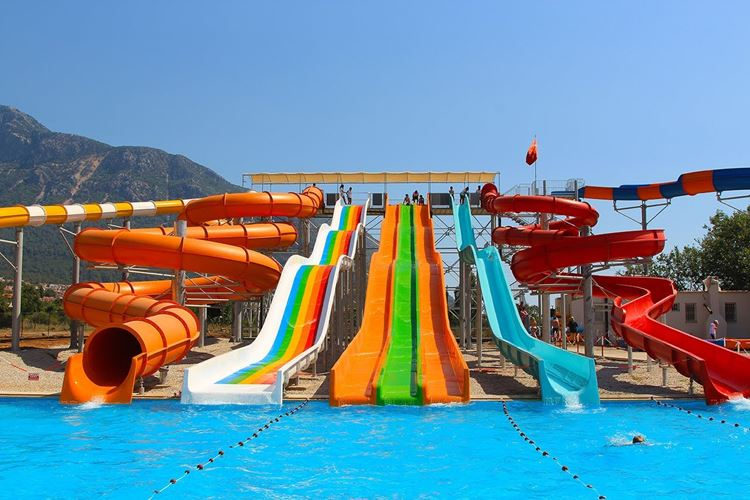 Аквапарки Турции - Oludeniz Water World Aquapark