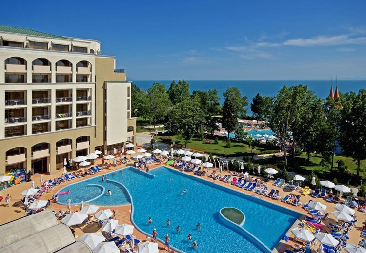 Отель Болгарии с аквапарком Sol Nessebar Mare Resort & Aquapark - All inclusive (Несебр), 4 звезды