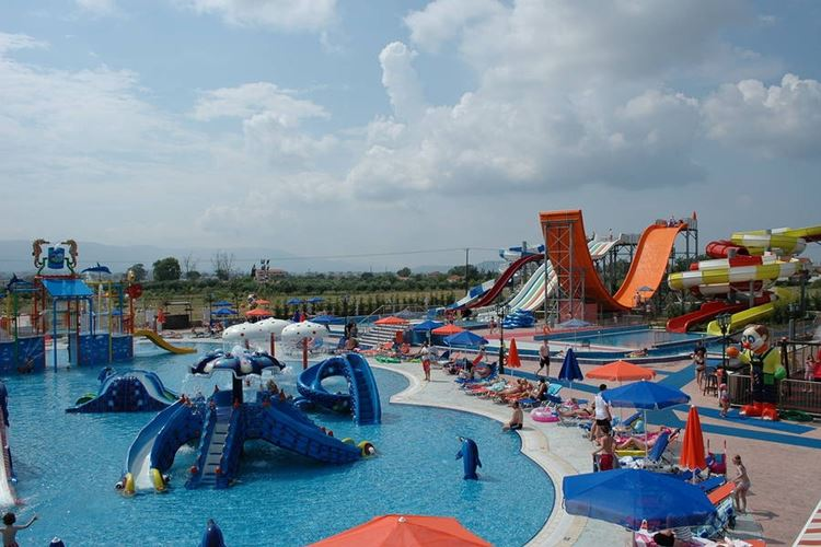 Отели Греции с аквапарком - Caretta Beach Resort & Waterpark о. Закинф