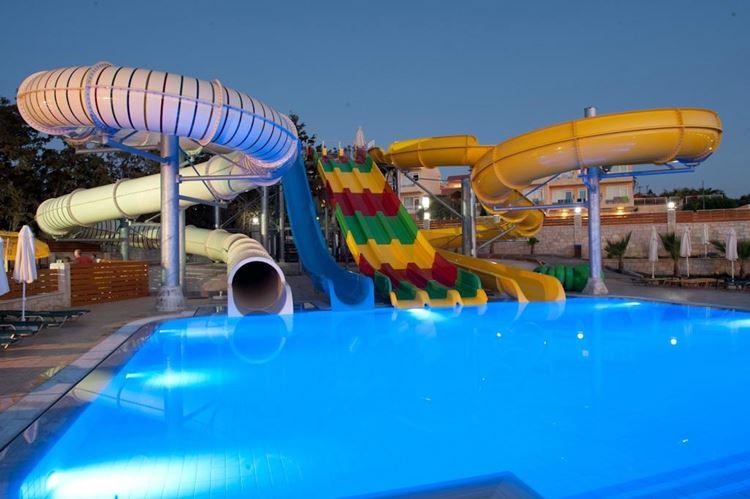 Отели Греции с аквапарком - Gouves Waterpark Holiday Resort о. Крит