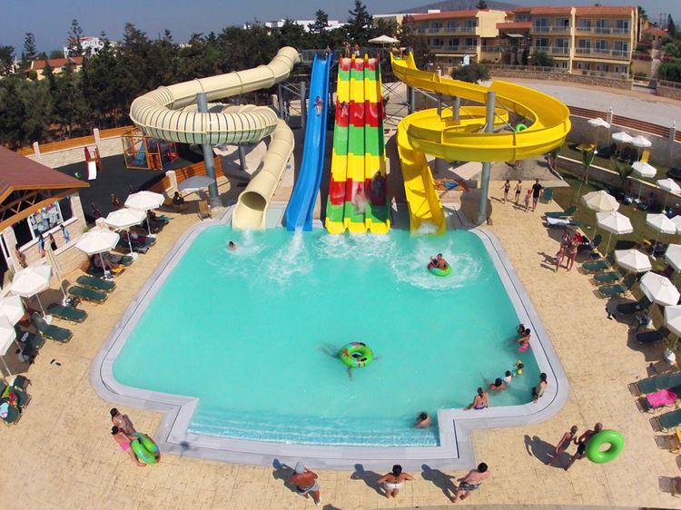 Отели Греции с водными горками - Gouves Waterpark Holiday Resort 4 звезды