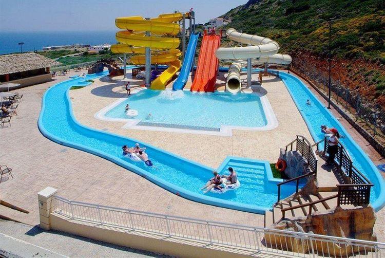 Отели Греции с водными горками - Smartline Village Resort & Waterpark 4 звезды
