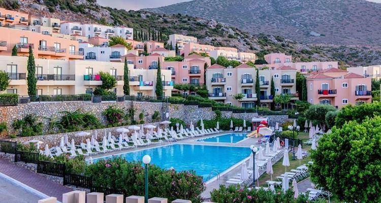 Отели Греции с аквапарком - Smartline Village Resort & Waterpark о. Крит