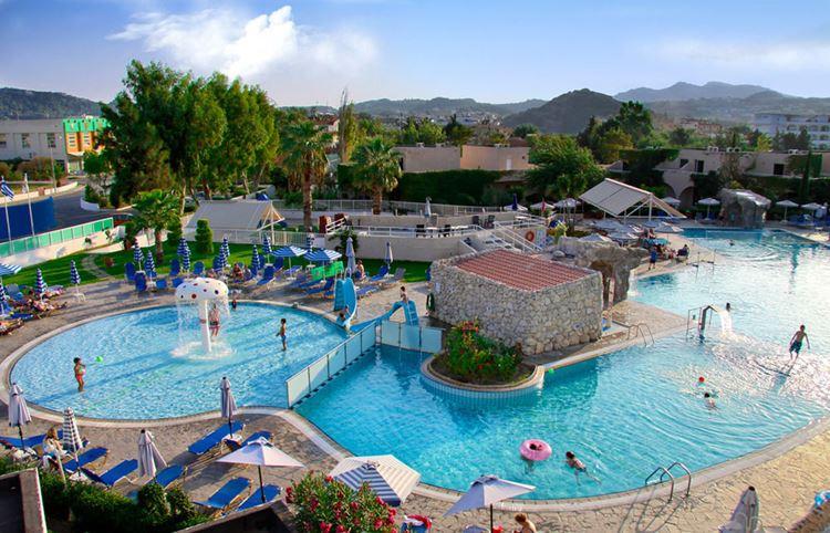 Отели Греции с водными горками - Sun Palace Hotel 4 звезды
