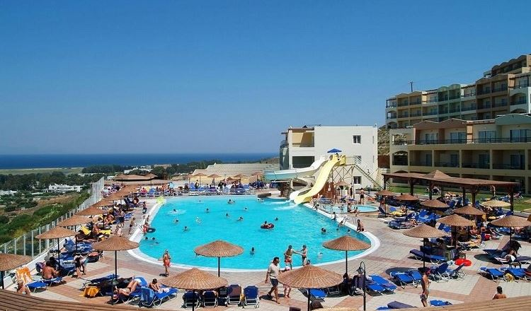 Отели Греции с аквапарком - Kipriotis Aqualand о. Кос