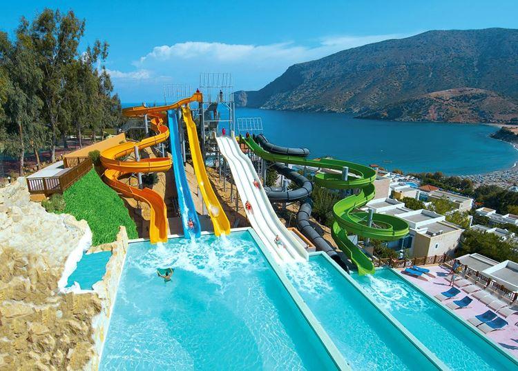 Отели Греции с аквапарком - Fodele Beach & Water Park Holiday Resort о. Крит