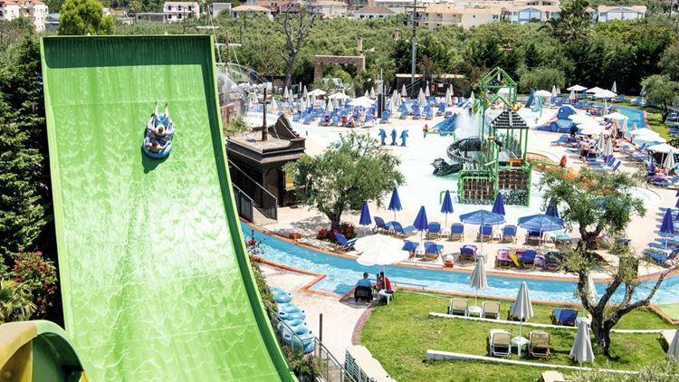 Отели Греции с аквапарком - Planos Bay Hotel о. Закинф