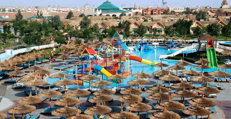 Отели Египта с аквапарком Хургада Jungle Aqua Park, 4 звезды