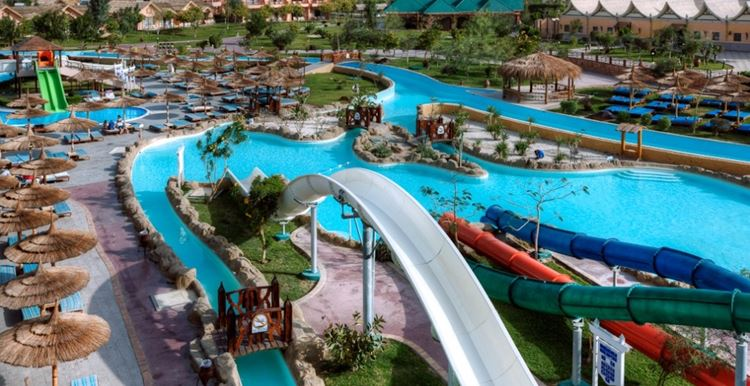 Отели Египта с водными горками Хургада Jungle Aqua Park, 4 звезды
