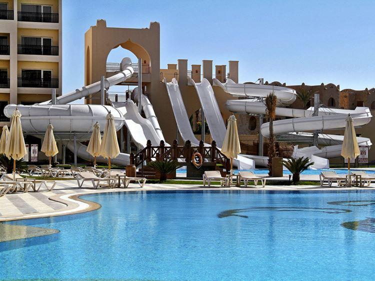 Отели Египта с водными горками Хургада Steigenberger Aqua Magic, 5 звёзд