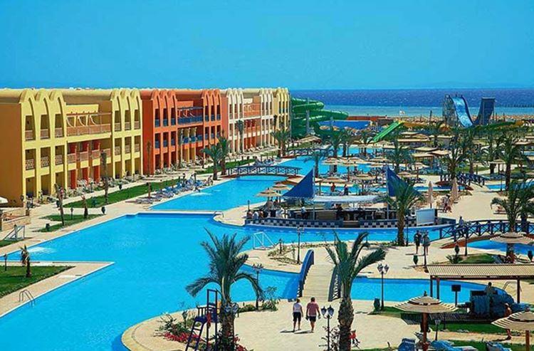 Отели Египта с водными горками Хургада LTI Titanic Beach Spa And Aqua Park, 5 звёзд